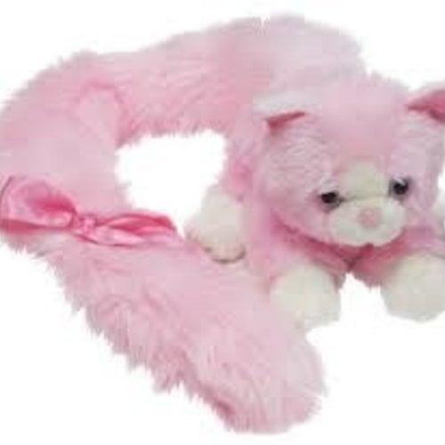 Princess Long Tail Cat Pink 18cm