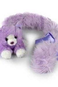 Princess Long Tail Cat Purple 18cm