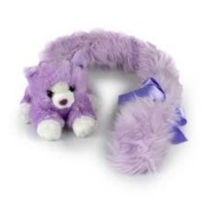 Princess Long Tail Cat Purple 18cm