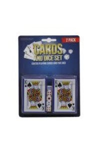 TBG Playing Cards & Dice Set