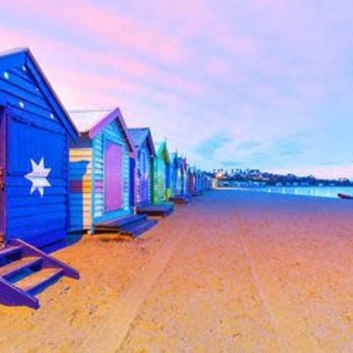 Brighton Beach Boxes Jigsaw Puzzle 1000pc