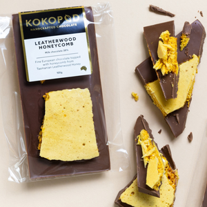 KOKO Leatherwood  Honeycomb Bar 100G