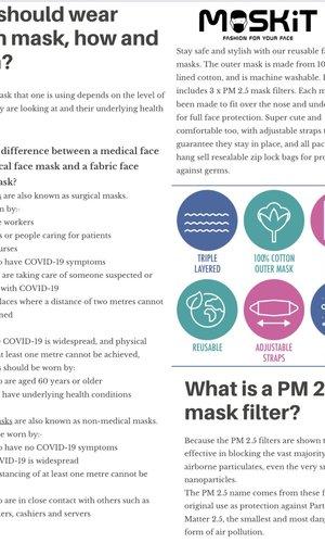 Maskit Pm2.5 Filter 10 Pack