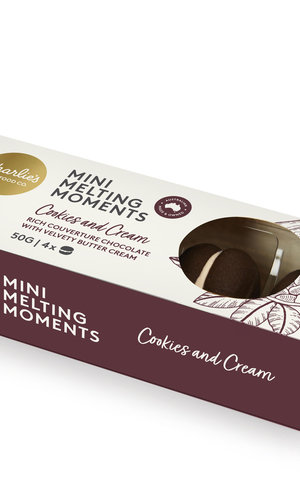 Charlies Mini Melting Moments 50g/4pk