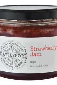 Daylesford Jam Strawberry 330g