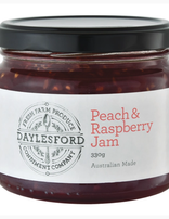 Daylesford Jam  Peach & Raspberry 330g