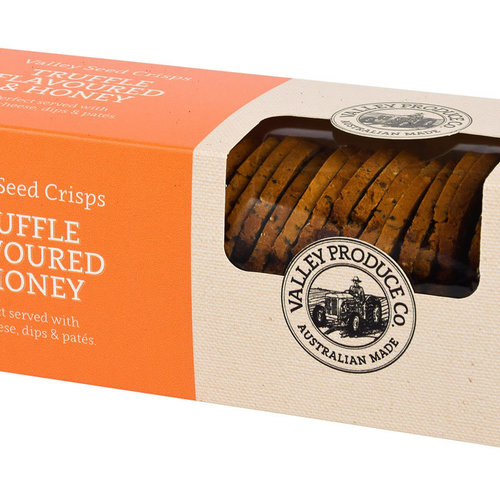 Valley Seed Crisps Truffle  Honey