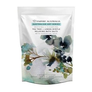 EA Bath Salts Tea Tree And Lemon Myrtle 1kg