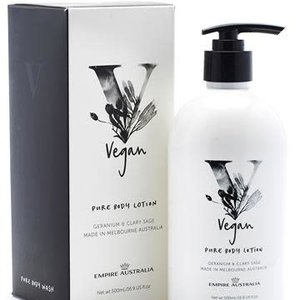 EA Vegan Body Lotion Geranium & Clary Sage