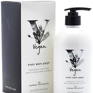 EA Vegan Body Wash Geranium & Clary Sage