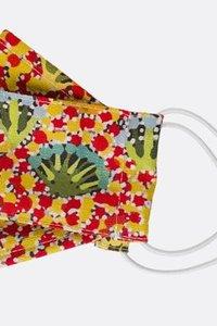 APD Daisy Moss Fabric Mask Au Made