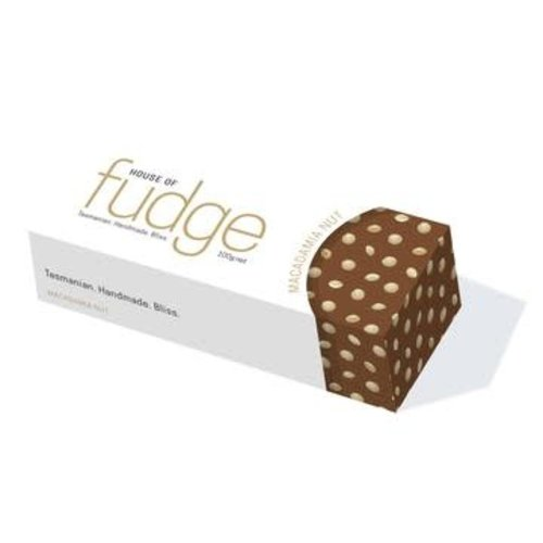 HOF Chocolate Macadamia Fudge