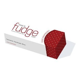 HOF Chocolate Raspberry Fudge