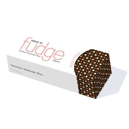 HOF Rockyroad Chocolate  Fudge