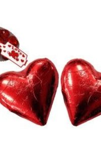 Chocolate Red Hearts 77g Bag