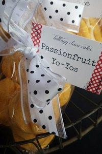 Homemade Passionfruit Yoyos 6pk