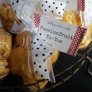 BC Homemade Passionfruit Yoyos 6pk Bethany Claire