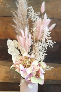 Pretty In Pink Mini Dried Arrangement