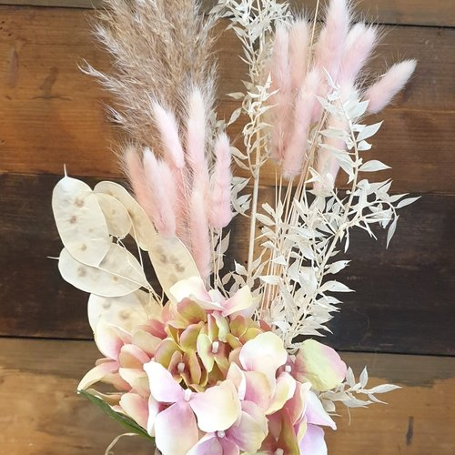 Pretty In Pink Mini Dried Arrangement