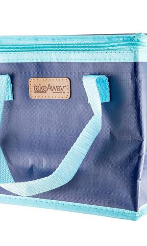 RNR Blue Takeaway Lunch Bag