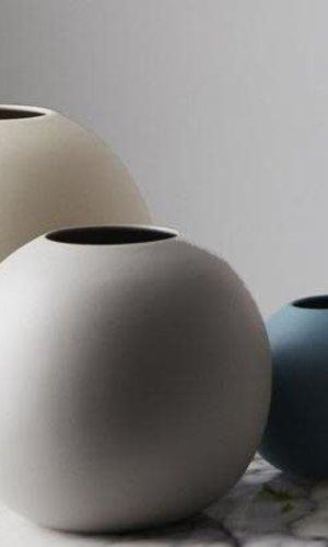 MF Cloud Vase Bubble Dove Gray Large