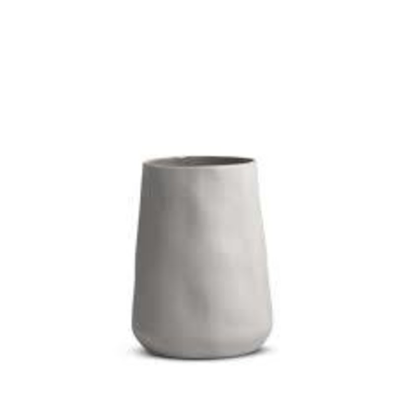 MF Tulip Vase Dove Gray Medium