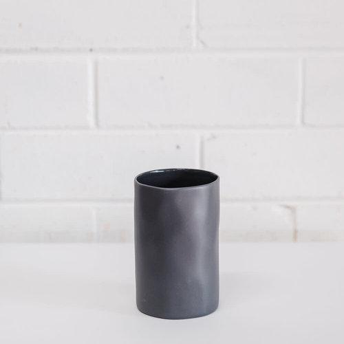 MF Cloud Vase Charcoal Small