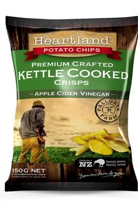 Apple Cider Vinegar Heartland Kettle GF Chips