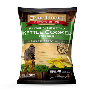 Apple Cider Vinegar Heartland Kettle GF Chips