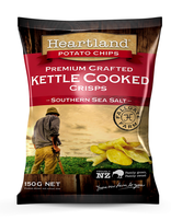 Southen Sea Salt Heartland Kettle GF Chips