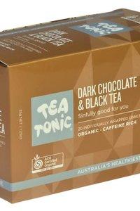 TT Dark Choc &Black Tea 20 Tea Bag Box