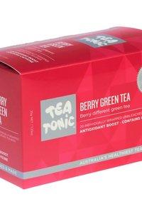 TT Berry Green Tea 20 Tea Bag Box