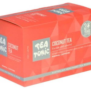 TT Coconut Tea 20 Tea Bag Box