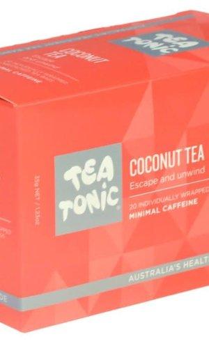 TT Coconut Tea 20 Tea Bag Box