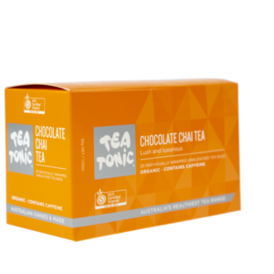 TT Chocolate Chai Tea 20 Tea Bag Box