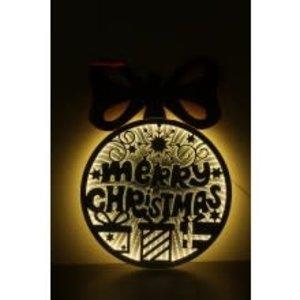 CCI Infinity Ball Merry Christmas