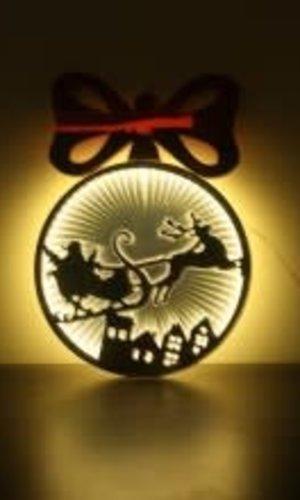 CCI Infinity Ball Santa Sleigh