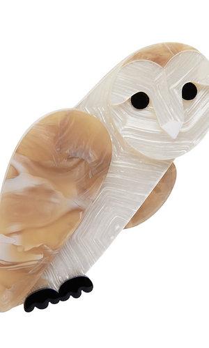 Miah Masked Owl Brooch