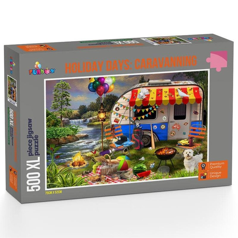 Holiday Caravanning Jigsaw puzzle 1000 pc