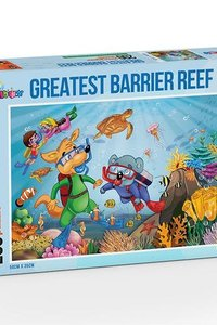 Greatest Barrier Reef Jigsaw puzzle 200 pc