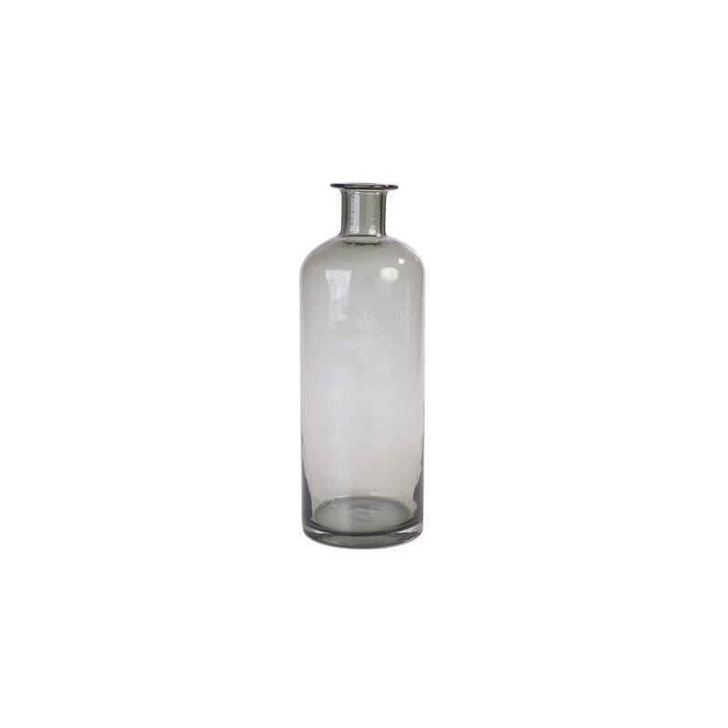 Provincial Vintage Glass Vase