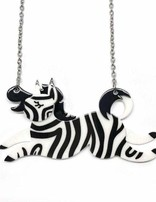 LEA Zebra Crossing Necklace