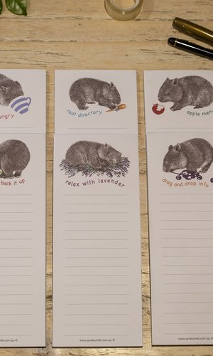 AGA Jotta-Wombat  6 Assorted Designs