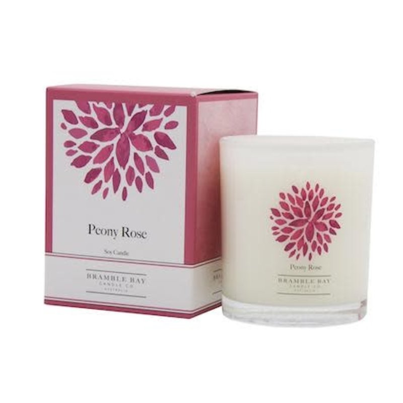 SI Peony Rose Candle
