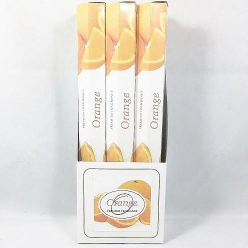 PPI Orange Incense Sticks White Collection