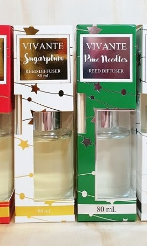 PPI Mini Merry Christmas Reed Diffuser (4ASS)