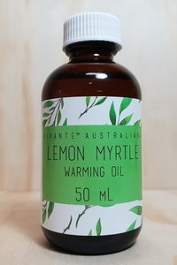PPI Lemon Myrtle Warming Oil 50ml
