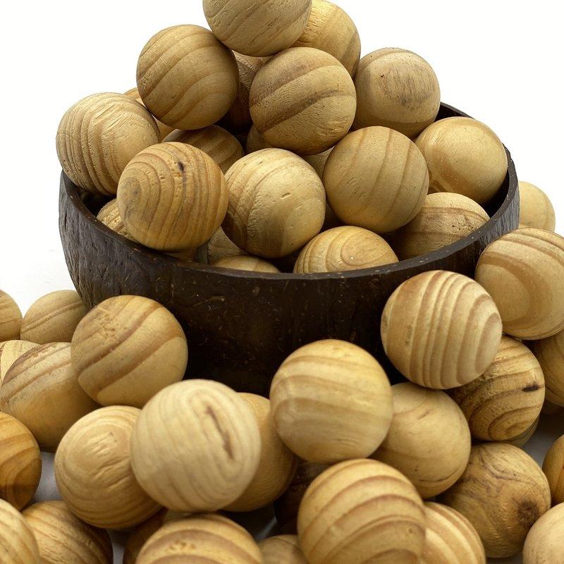 PPI Ginger Bread Wooden Balls 12pc