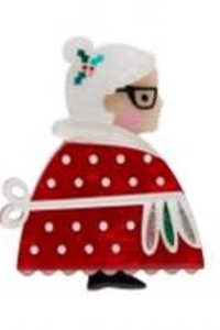 LEA Mrs. Clause Brooch