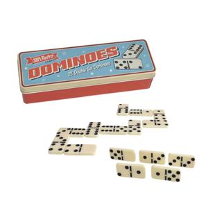 IHT Retro Dominoes In Tin Box